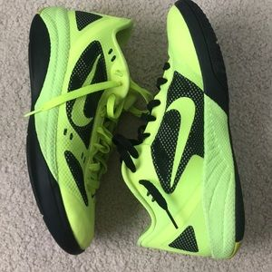 Nike basketball shoes- hyperfuse low top men's 8.5